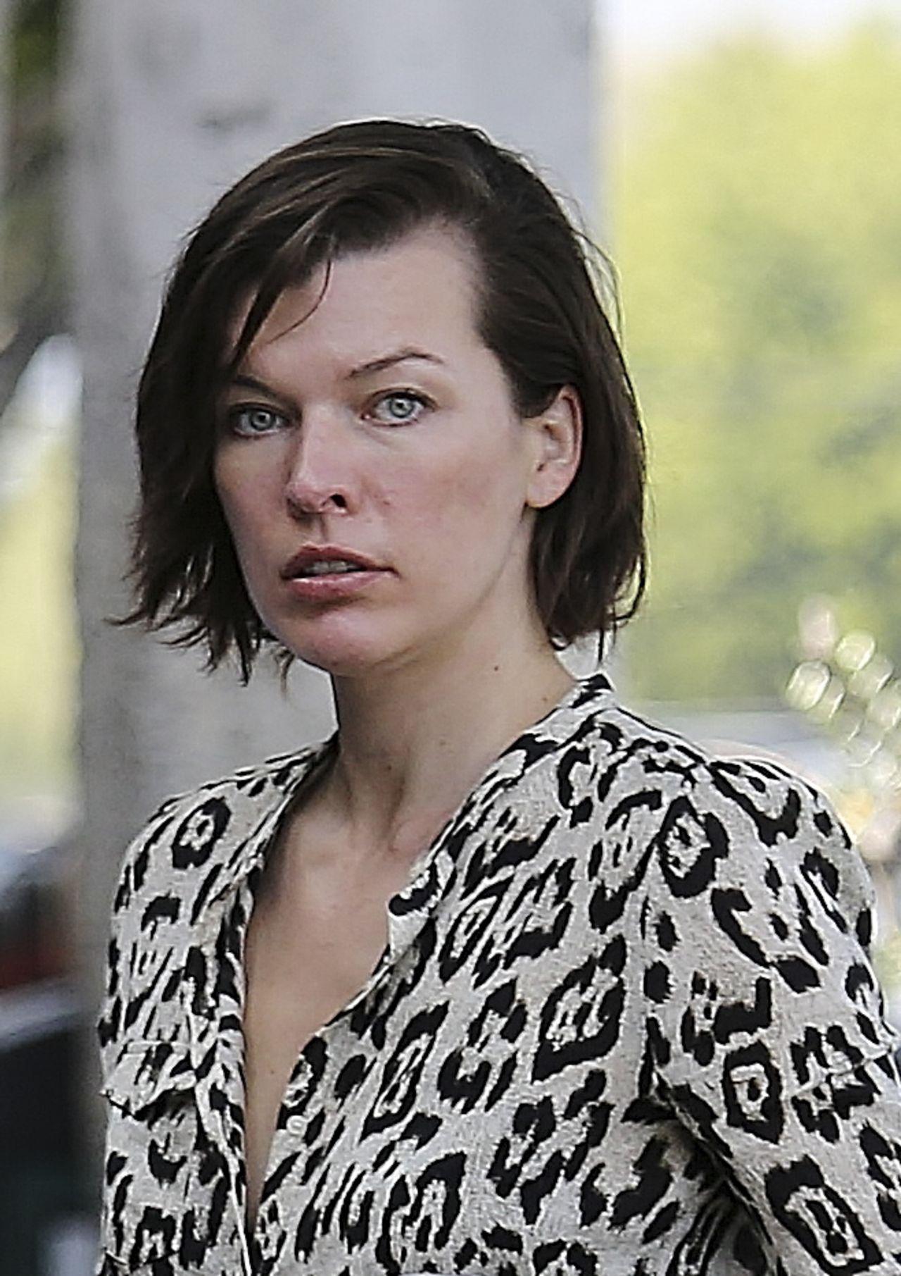 Milla Jovovich Latest Photos - CelebMafia Milla Jovovich