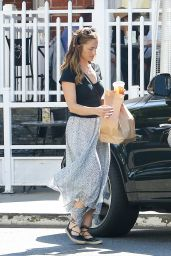 Minka Kelly at Urth Caffe in Beverly Hills 6/17/2016