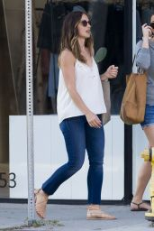 Minka Kelly - Out in West Hollywood 6/23/2016