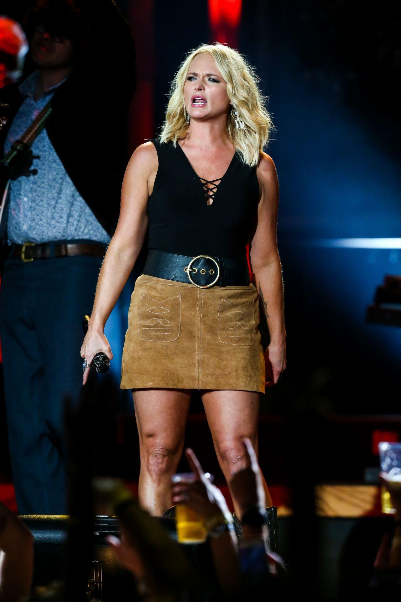 Miranda Lambert Performs At The Veterans United Home