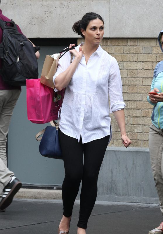 Morena Baccarin Casual Style - Out in New York City 6/3/2016