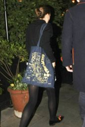 Natalie Portman Night Out - Chiltern Firehouse in London, June 2016