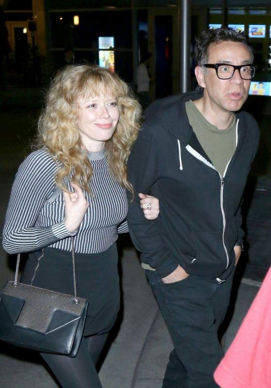 Natasha Lyonne - Outside ArcLight Theatre in Hollywood 6/12/2016