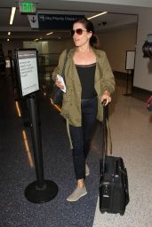 Neve Campbell at LAX Airport in Los Angeles 6/15/2016