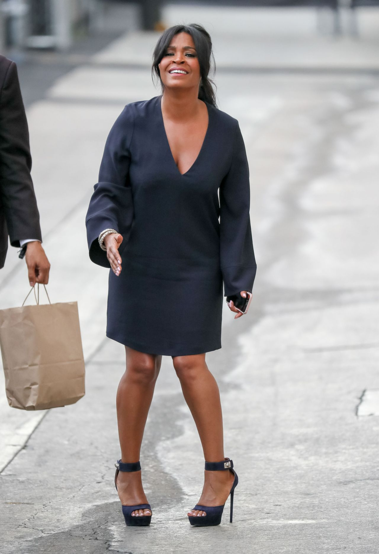 Nia Long At Jimmy Kimmel Live In Los Angeles 6272016-3378