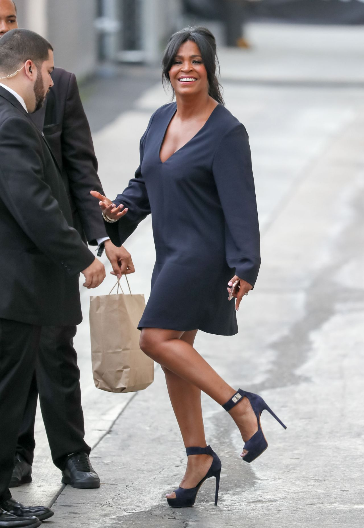 Nia Long At Jimmy Kimmel Live In Los Angeles 6 27 2016