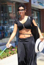 Nicole Murphy - Take a Seat at the Nail Salon in Beverly Hills 6/20/2016