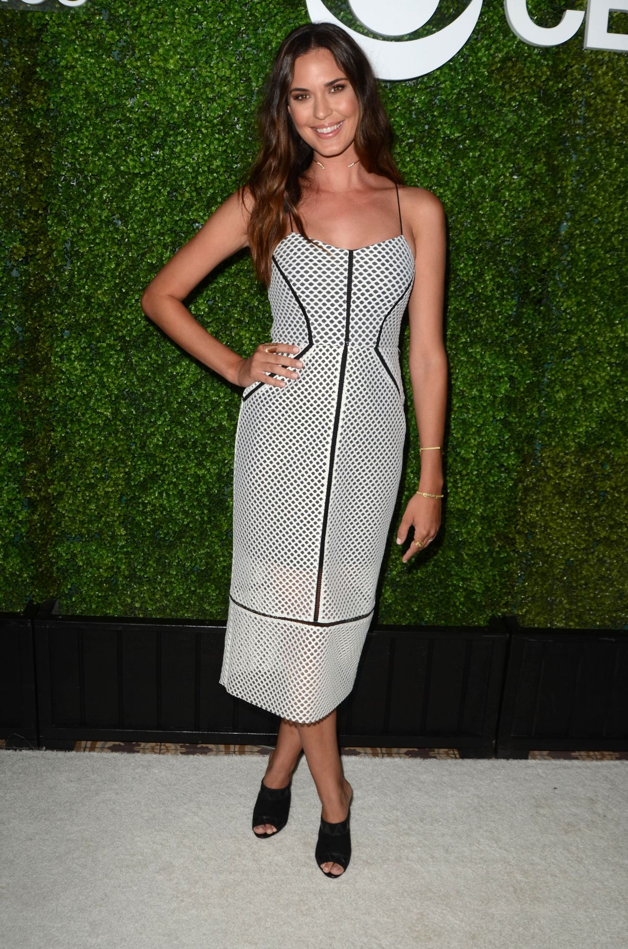 Odette Annable Cbs Television Studios Summer Soiree In