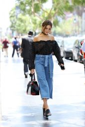 Olivia Culpo Urban Outfit - Out in Los Angeles 6/23/2016