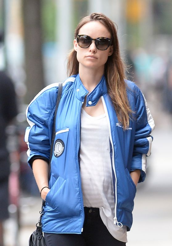 Olivia Wilde Street Style  - Out in New York City 6/28/2016