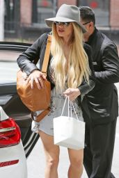 Orianthi - Arrives all Dolled Up to The Warehouse Studio in Vancouver