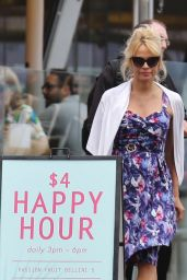 Pamela Anderson - Sight-Seeing in Vancouver, Canada 6/23/2016