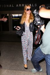 Paris Hilton was spotted at LAX in Los Angeles, June 2016
