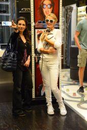 Paris Hilton With Her Italian Boyfriend Pietro Tavallini in Milan 6/15/2016