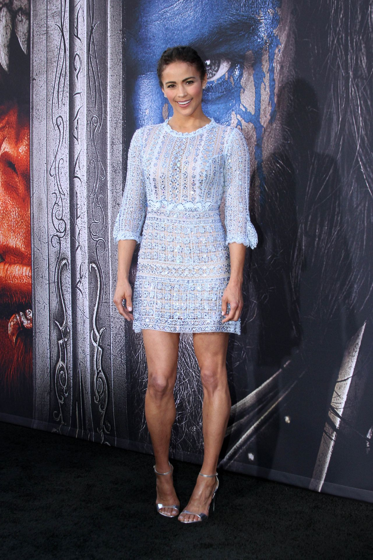 Paula Patton Warcraft Premiere Tcl Chinese Theatre In