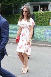 Pippa Middleton - Arriving at The Championships in Wimbledon 6/27/2016
