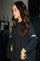 Rihanna - Outside Tramps Nightclub in London 6/29/2016