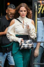 Riley Keough - Leaving Her Hotel in New York City 6/8/2016
