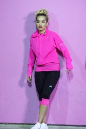 Rita Ora - Adidas AD Photoshoot in West Hollywood, June 2016