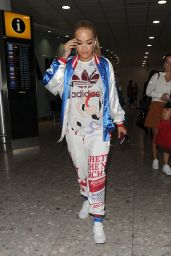 Rita Ora at Heathrow Airport in London 6/21/2016