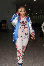 Rita Ora at Heathrow Airport in London 6/21/2016