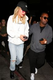 Rita Ora Casual Style - at The Nice Guy in West Hollywood 5/31/2016