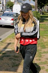 Rita Ora in Tracksuit - Shopping in Los Angeles 6/15/2016
