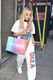 Rita Ora - Leaving a Recording Studio in London 6/29/2016
