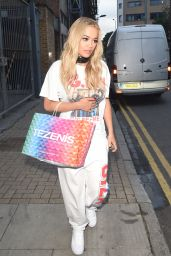 Rita Ora - Leaving a Recording Studio in London 6/29/2016