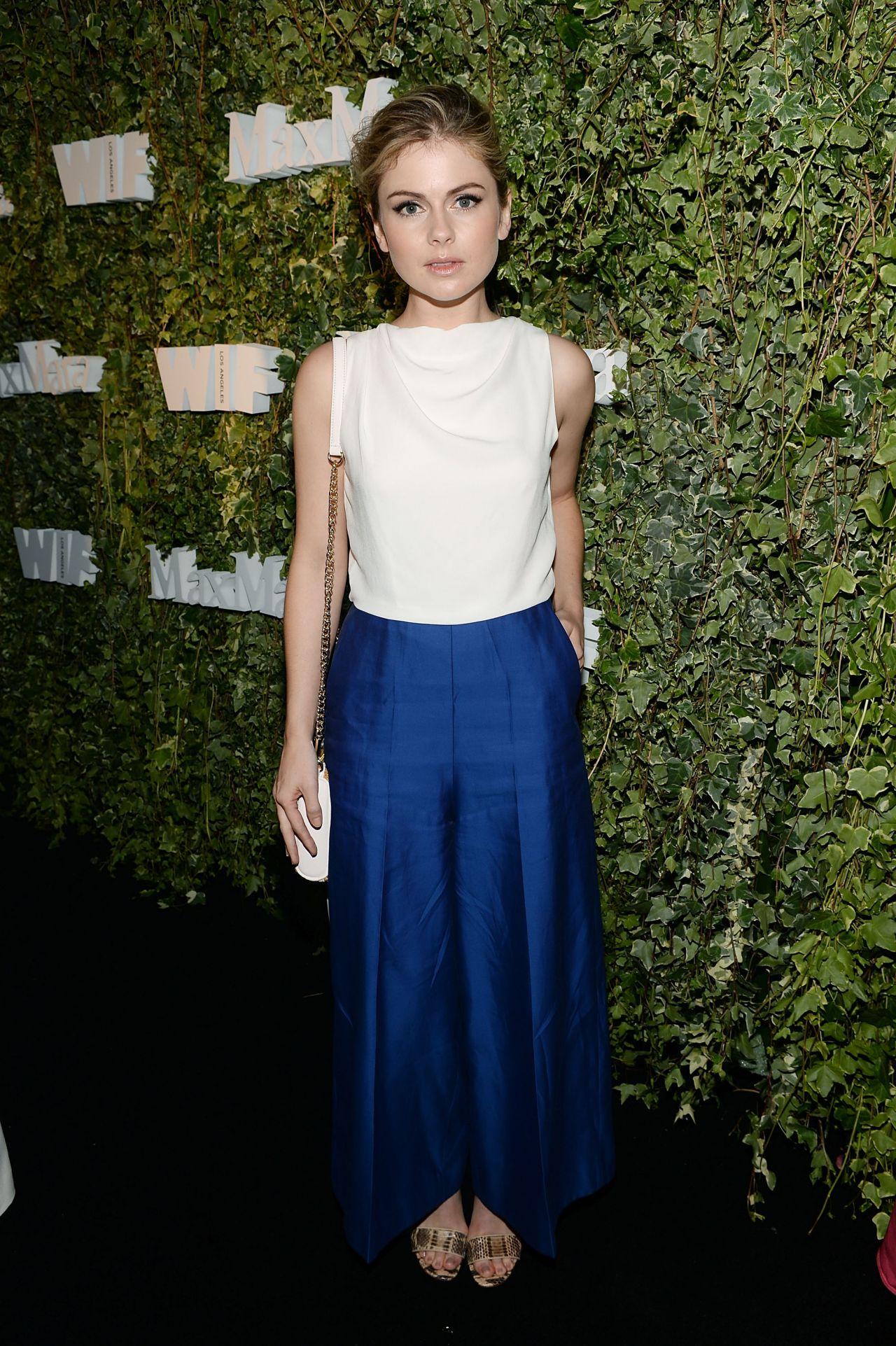 Rose Mciver Max Mara Celebrates Natalie Dormer The