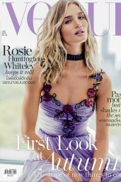 Rosie Huntington-Whiteley - Vogue Magazine Thailand July 2016 Cover and Photos