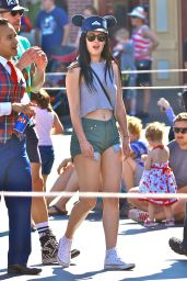 Rumer Willis at Disney California Adventure Park 6/5/2016