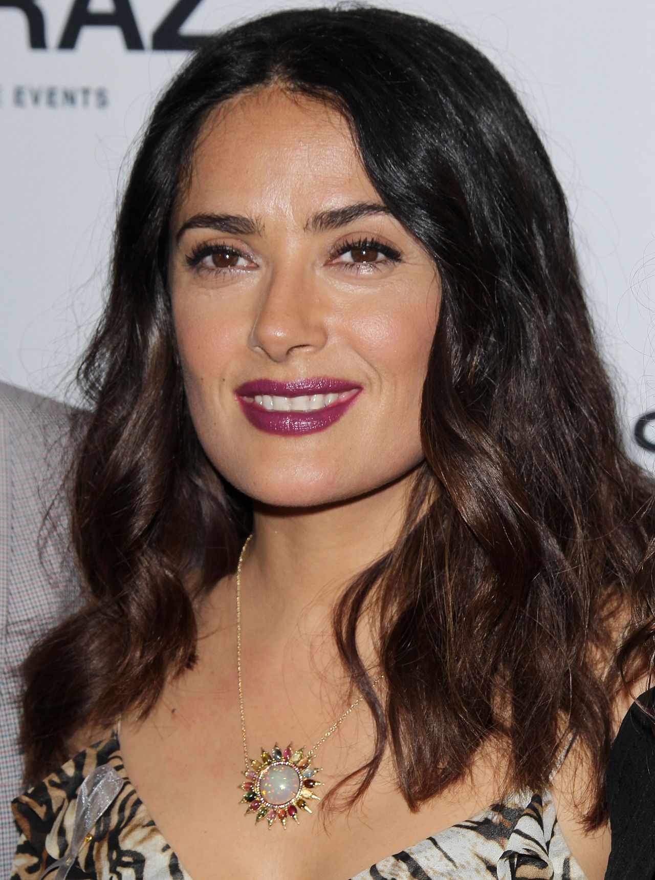 Salma Hayek - Momentum Pictures' 'September Of Shiraz' Premiere at the ... Salma Hayek