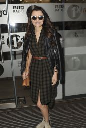 Samantha Barks - Arriving at BBC Radio 1 Studios in London 6/5/2016