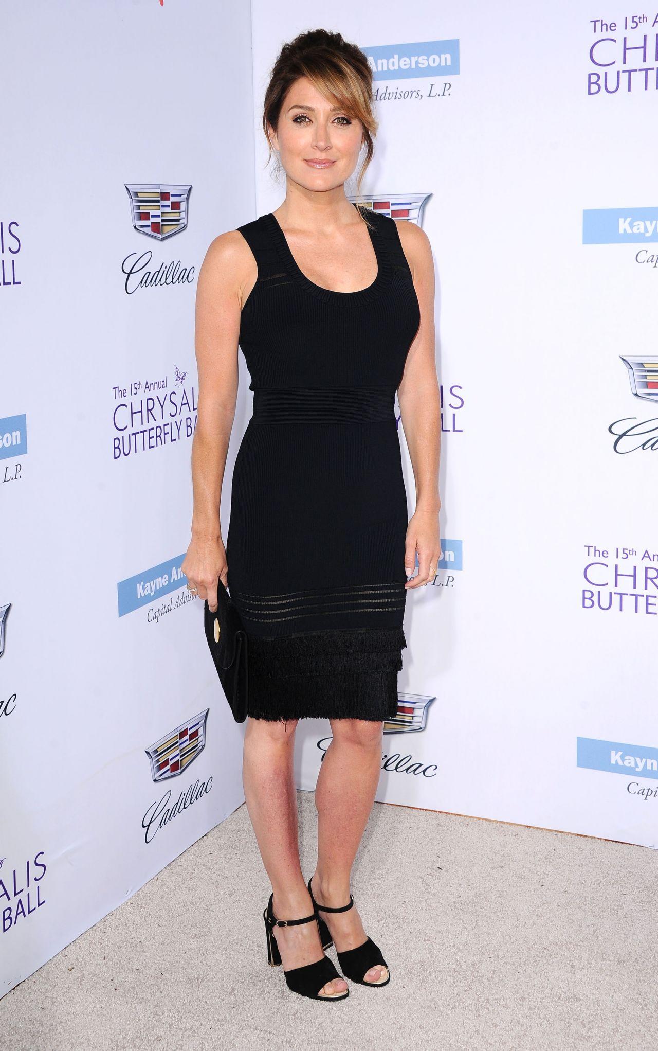 Sasha Alexander 2016 Chrysalis Butterfly Ball In Los Angeles