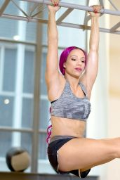 Sasha Banks - Muscle & Fitness Hers Magazine July/August 2016 Issue