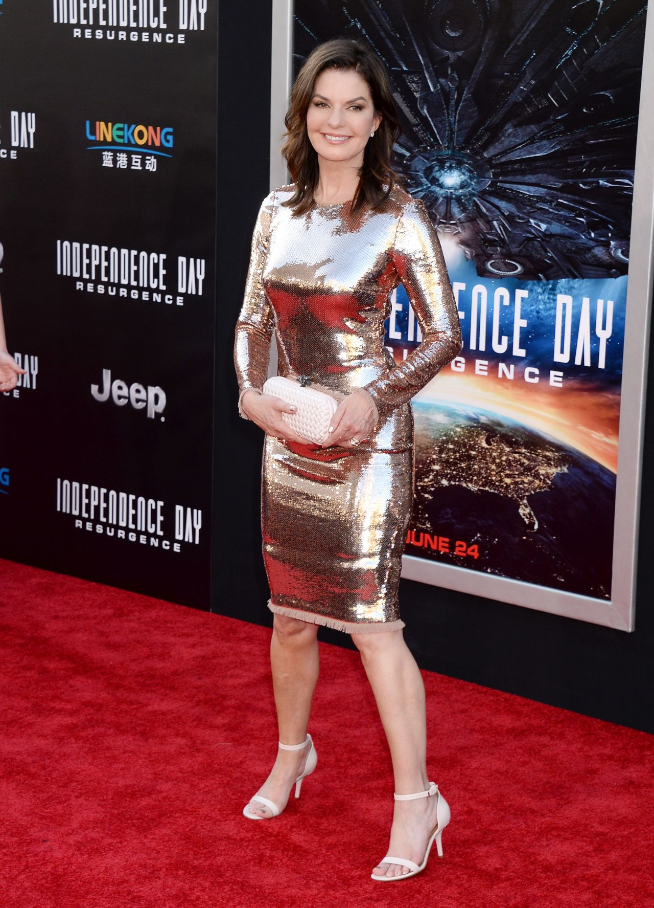 Sela Ward Independence Day Resurgence Premiere In