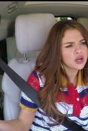 Selena Gomez - Carpool karaoke on