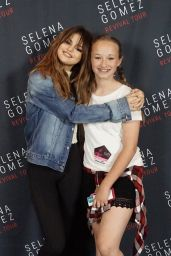 Selena Gomez - Meet & Greet at the Revival World Tour in Charlotte, June 2016