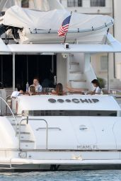 Selena Gomez on a Yacht in Miami (More HQ Pics)  6/13/2016