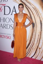 Shanina Shaik – CFDA Fashion Awards in Hammerstein Ballroom, New York City 6/6/2016