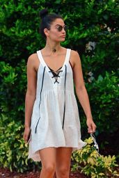 Shanina Shaik Summer Outfit - Out in Miami Beach 6/1/2016