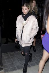 Sofia Richie at Doheny Room in West Hollywood 6/29/2016