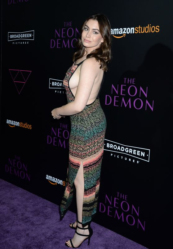 Sophie Simmons – 'The Neon Demon' Premiere in Los Angeles 6/14/2016