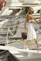 Tallia Storm in a Bikini on a Yacht in Marbella 6/11/2016