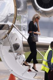 Taylor Swift - Arriving at Stansted Airport in England 6/24/2016