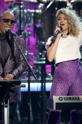 Tori Kelly Performs at  2016 BET Awards in Los Angeles