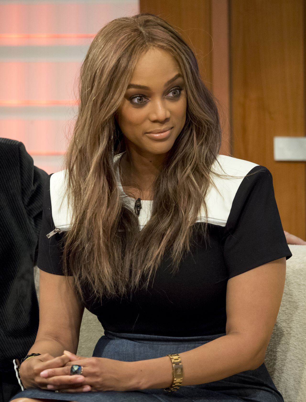 Tyra Banks – Appears On Good Morning Britain 6/28/2016
