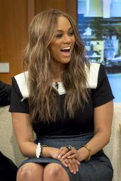 Tyra Banks - Appears On Good Morning Britain 6/28/2016