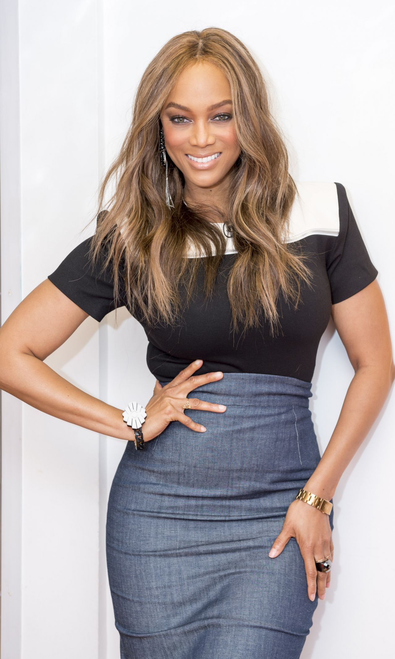 Tyra Banks Appears On Good Morning Britain 6 28 2016